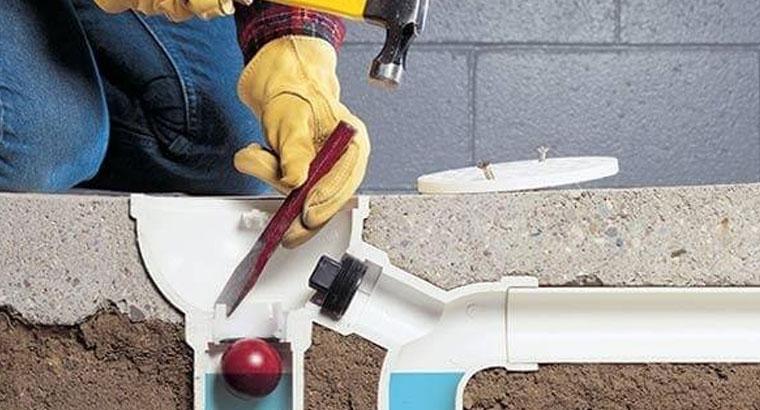 لوله بازکنی فنر زنی لوله کشی تخلیه چاه