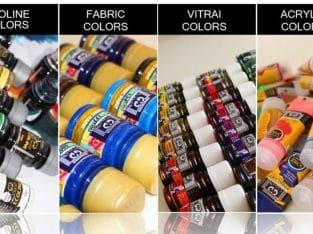 تولید رنگهای هنری با نام و برند شما