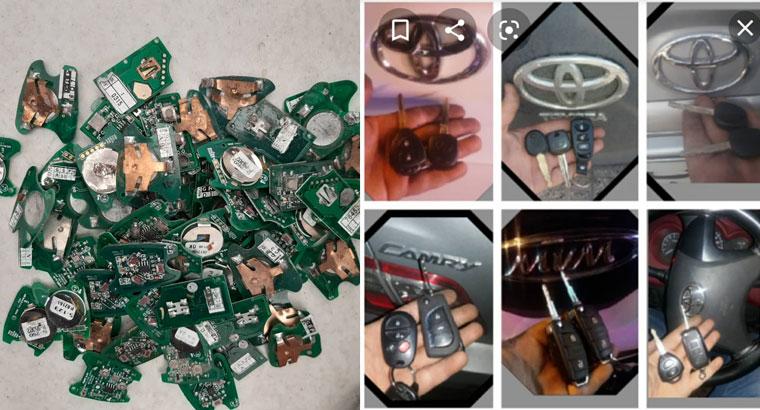 ساخت سوییچ کارت مگان ماشین کلید کددار ریموت