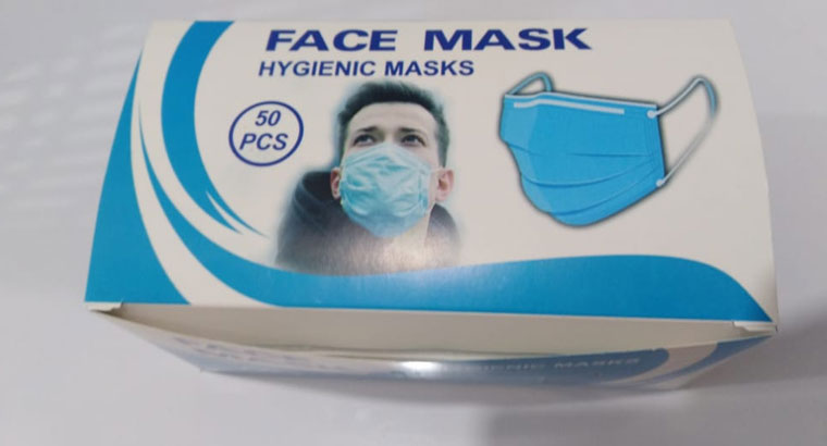 تولید و فروش ماسک سه لایه و فیلتر دار