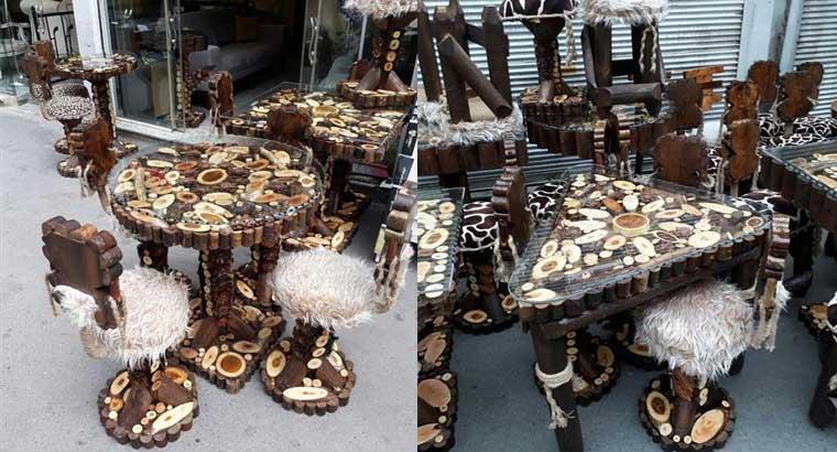 تولید میز نهارخوری جنگلی