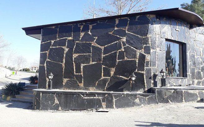 سنگ کاری سنگ لاشه (مالون و میگون )