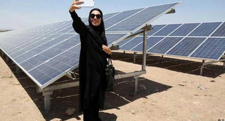 پنل های خورشیدی تولید برق