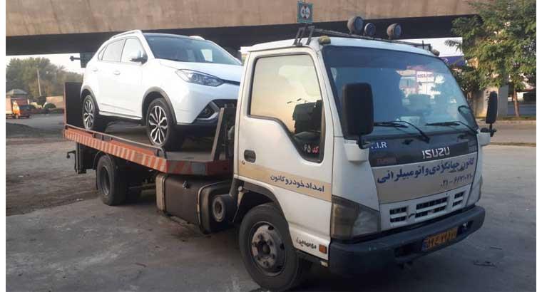 حمل خودرو با خودروبر در قزوین