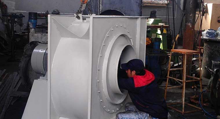 تولید انواع هواکش های صنعتی