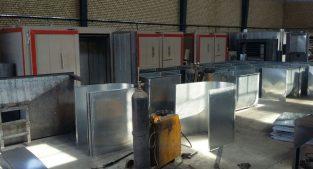 تولید تجهیزات خط رنگ پودری ( الکترو استاتیک )