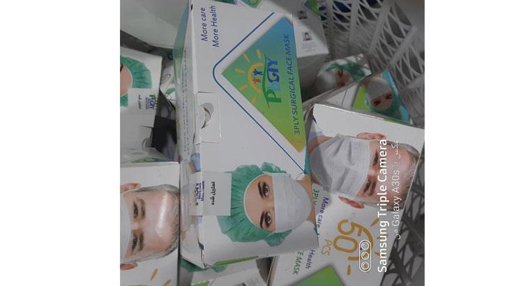 تولید و فروش ماسک سه لایه