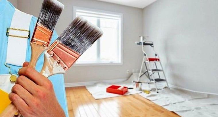 نقاشی و رنگ امیزی ساختمان