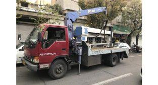 اجاره جرثقیل ۳ و ۵ تن در تهران