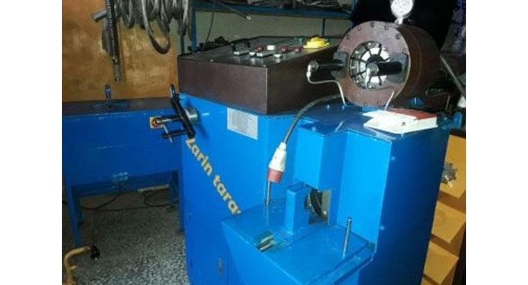 تولید دستگاه پرس شلنگ هیدرولیک