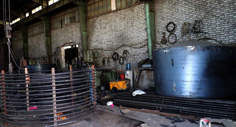 ساخت ماشین آلات صنعتی در اراک