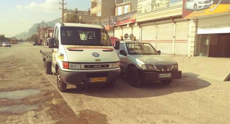 امداد خودرو در کرمانشاه