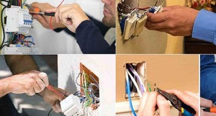 کلیه خدمات برق صنعتی و ساختمانی