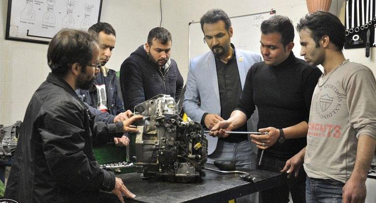 آموزشگاه تعمیرات خودرو در نارمک