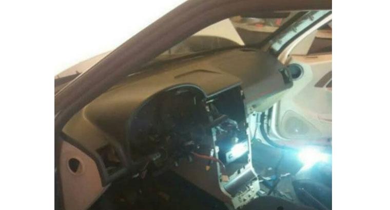 صداگیری خودرو در تبریز
