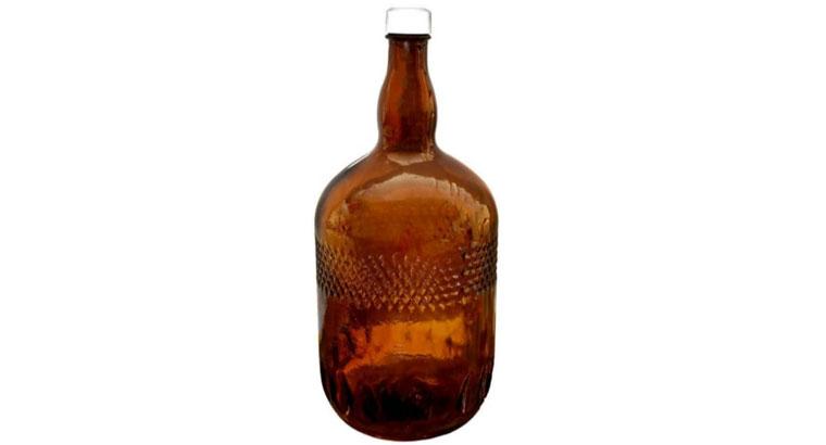 بطری شیشه ای قرابه