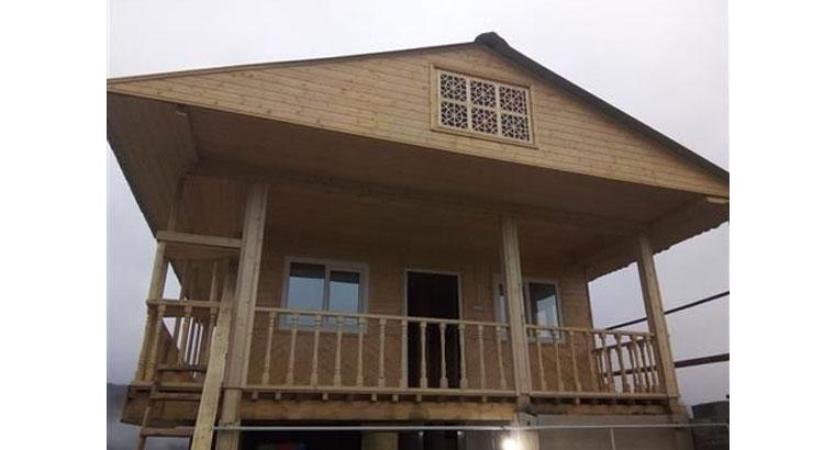 طراحی و ساخت انواع خانه های چوبی