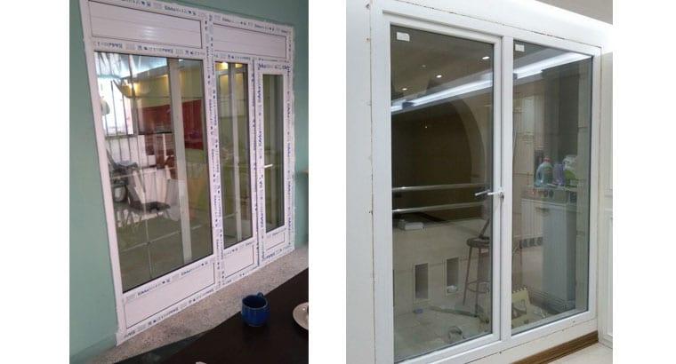 طراحی ساخت ونصب درب وپنجره دوجداره upvc وتوری