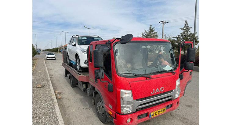 امدادخودرو و خودروبر در مشهد