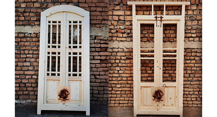 درب و پنجره چوبی سنتی
