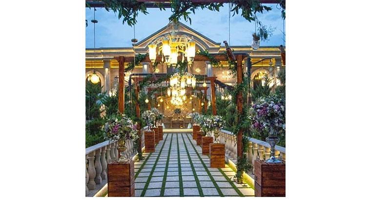 باغ تالار عمارت در شهریار