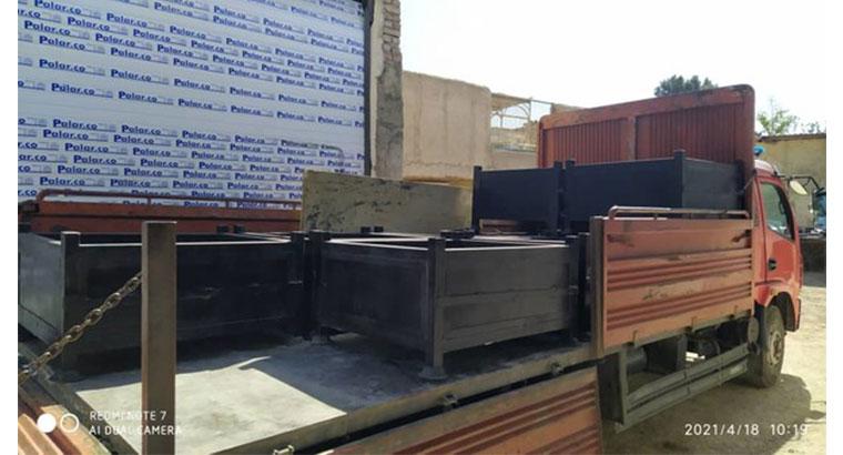 ساخت باکس پالت فلزی