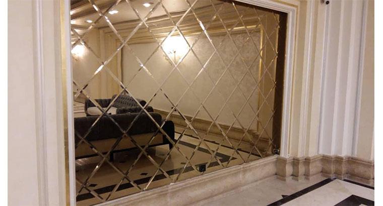 نصب انواع شیشه و آینه دکوراتیو
