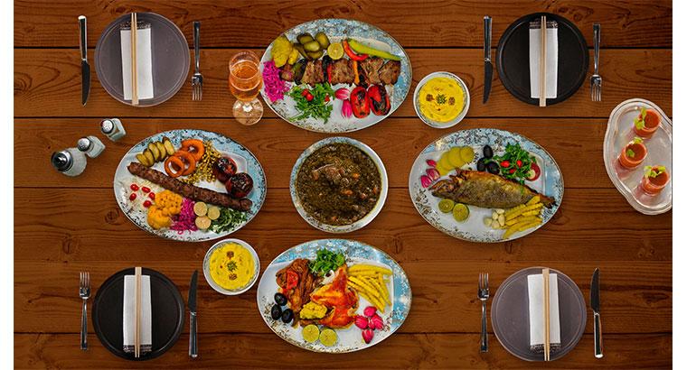 بهترین تهیه غذا شیراز