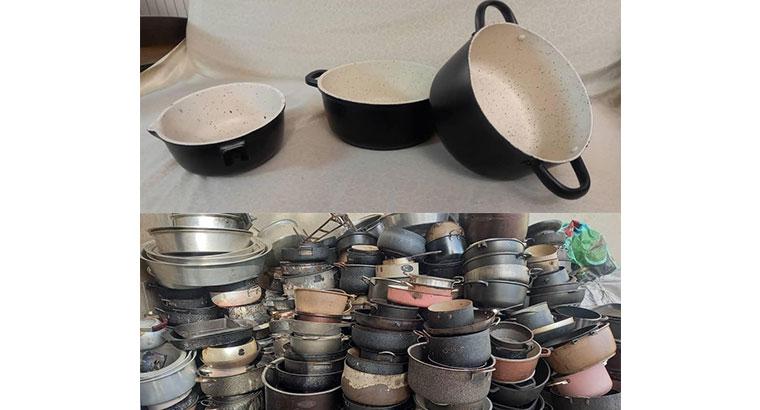 بازسازی ظروف در گوهردشت