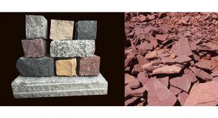 تولید سنگ های لاشه ساختمانی