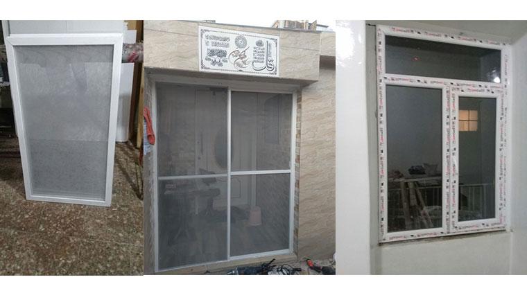 ساخت و نصب درب و پنجره upvc
