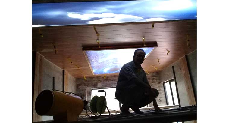 اجرا سقف کشسان در تهران
