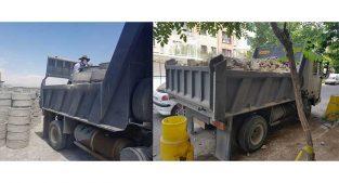 حمل نخاله و خاکبرداری شرق تهران