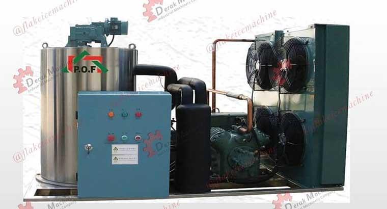 دستگاه یخساز پولکی کردستان