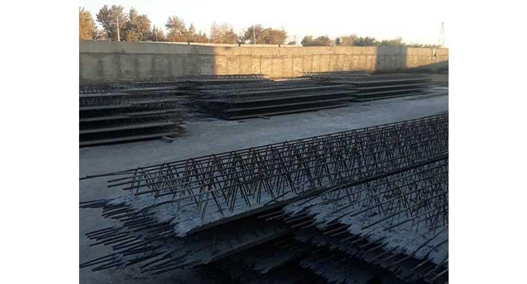 تولید کننده تیرچه ساختمانی استاندارد