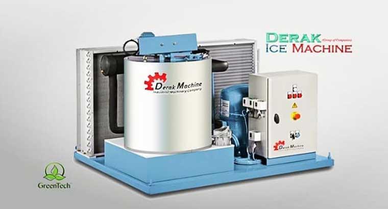 دستگاه یخساز پولکی مازندران