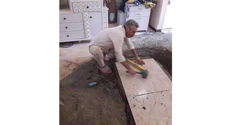 سنگ کاری و کاشی کاری حرفه ای تهران